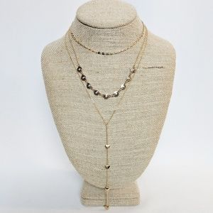💢3 for $25💢 Aeropostale 3 Gold Tone Necklaces